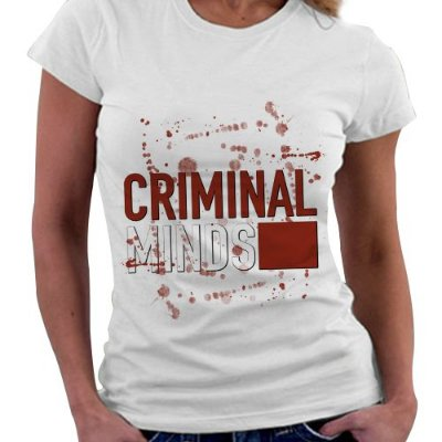 Camiseta Feminina - Criminal Minds