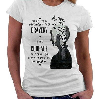 Camiseta Feminina - Divergente - Courage
