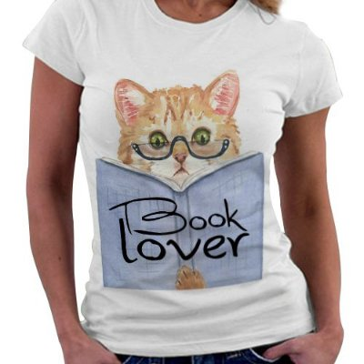 Camiseta Feminina - Book Lover