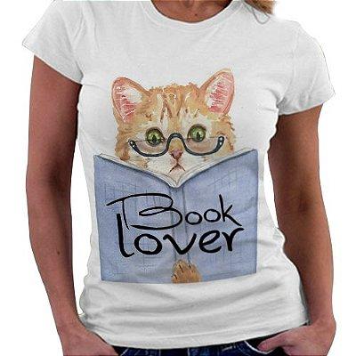 Camiseta Feminina - Book Lover