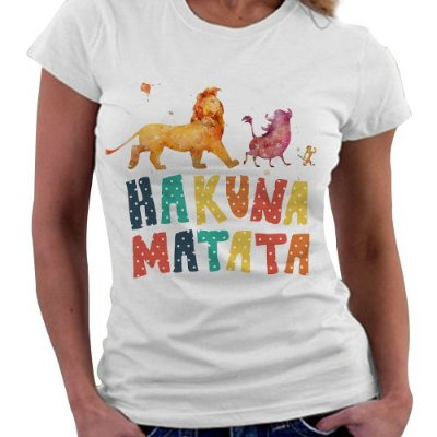 Camiseta Feminina - Hakuna Matata