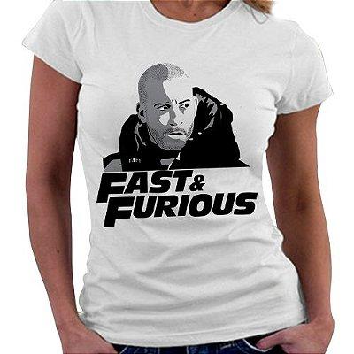 Camiseta Feminina - Veloses e Furiosos - Toretto