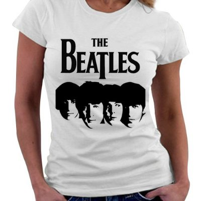 Camiseta Feminina - The Beatles