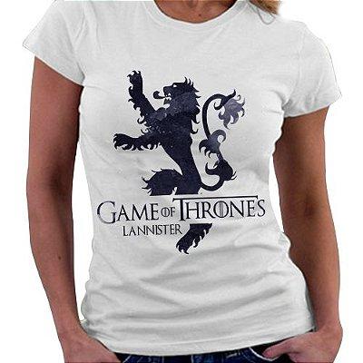 Camiseta Feminina - Game of Thrones - Casa Lannister