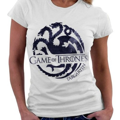 Camiseta Feminina - Game of Thrones - Casa Targaryen