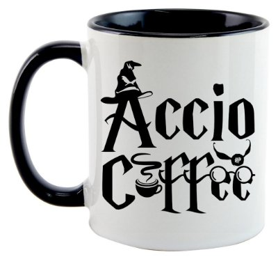Caneca - Harry Potter - Accio Coffee