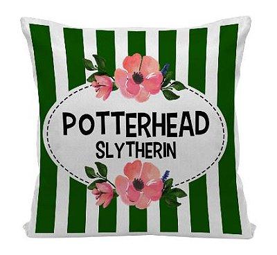 Almofada - Harry Potter - Casa Slytherin