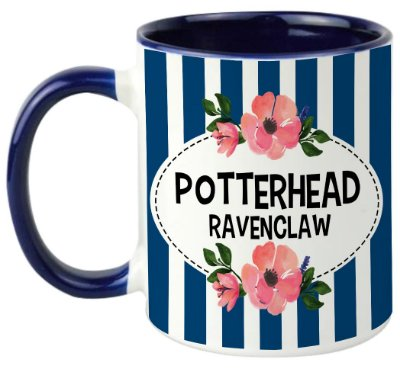 Caneca - Harry Potter - Casa Ravenclaw