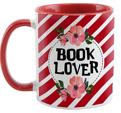 Caneca - Bookstagram  - book Lover -Red