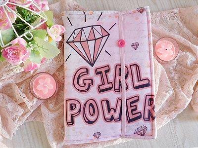 Capa ajustável para Livro - Girl Power