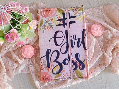 Capa ajustável para Livro - Girl Boss