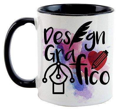Caneca - Profissões - Design Gráfico