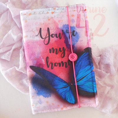Capa ajustável para Livro - Belo Desastre - You're my Home