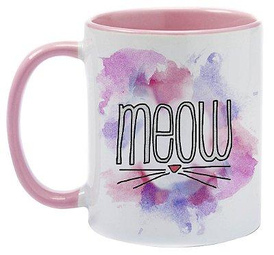 Caneca  -Meow