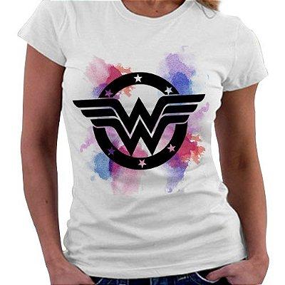 Camiseta Feminina - Mulher Maravilha 02
