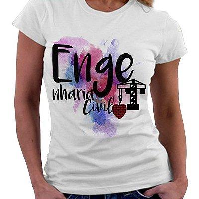 Camiseta Feminina - Profissões - Direito