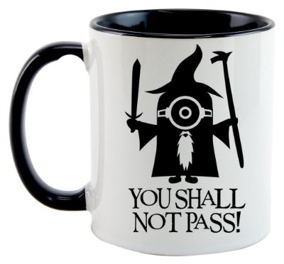 Caneca - You Shall Not Pass - Minions