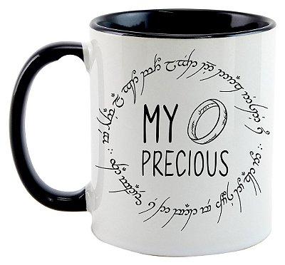 Caneca - O Senhor dos Anéis - My Precious