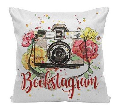 Almofada - Bookstagram - Flowers