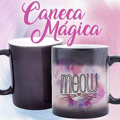 Caneca Mágica - Meow
