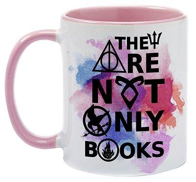 Caneca Bookstagram -  Não são apenas Livros
