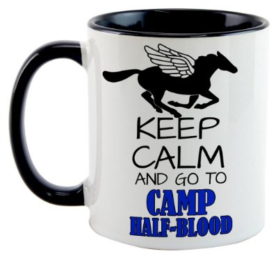 Caneca - Percy Jackson - Keep Kalm