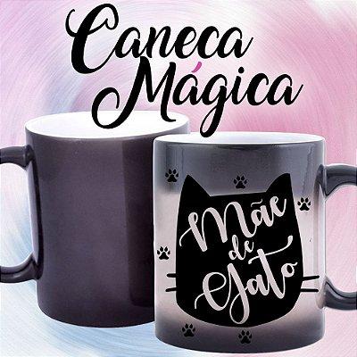 Caneca Mágica - Mãe de Gato