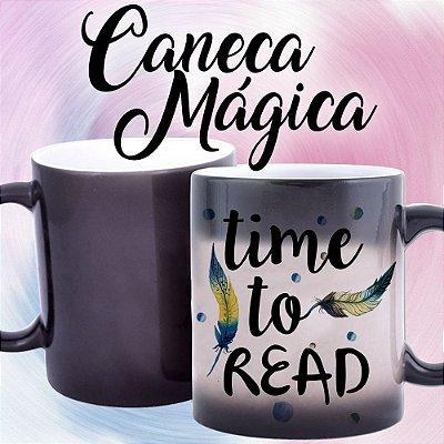 Caneca Mágica - Time to Read