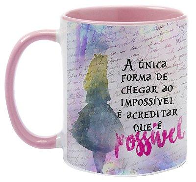 Caneca - Alice - A única forma