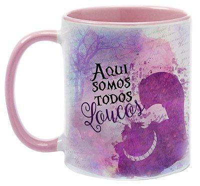 Caneca - Alice - Somos todos Loucos
