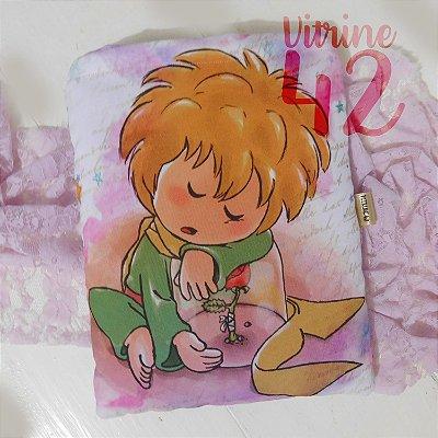Capa Tipo Luva para Livro - Pequeno Príncipe