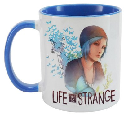 Caneca - Game Life is Strange - Blue