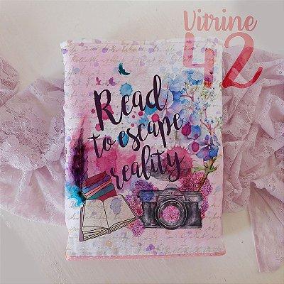Capa Tipo Luva para Livro - Read to Escape