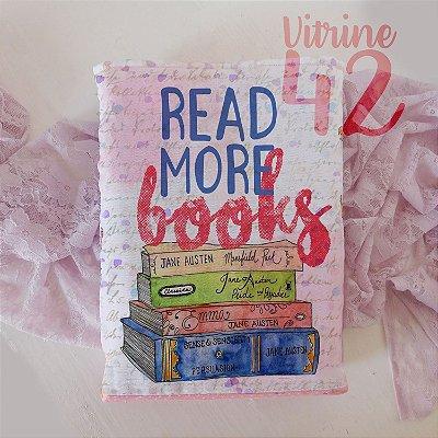 Capa Tipo Luva para Livro - Read More Books