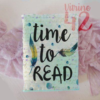 Capa Tipo Luva para Livro - Time to Read
