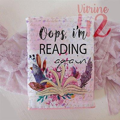 Capa Tipo Luva para Livro - Reading Again