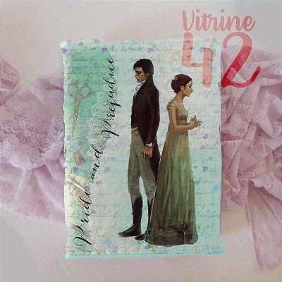 Capa Tipo Luva para Livro - Pride and Prejudice - Jane Austen