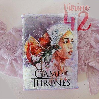 Capa Tipo Luva para Livro - Game of Thones - Khaleesi