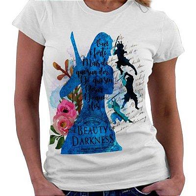 Camiseta Feminina - Crônicas de amor e Ódio - Livro 3