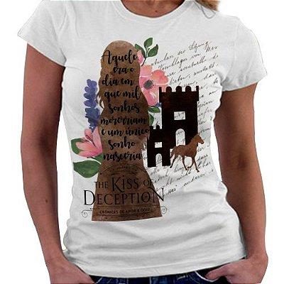 Camiseta Feminina - Crônicas de amor e Ódio - Livro 1