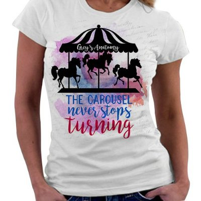 Camiseta Feminina - Grey's Anatomy - The Carousel