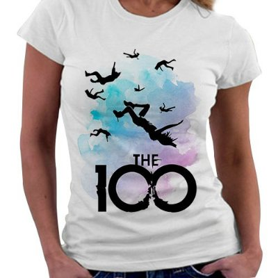 Camiseta Feminina - The 100