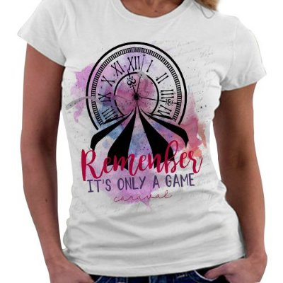 Camiseta Feminina - Caraval - Remenber