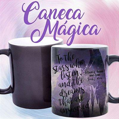 Caneca Mágica - Corte de Espinhos e Rosas - To The Stars - 02