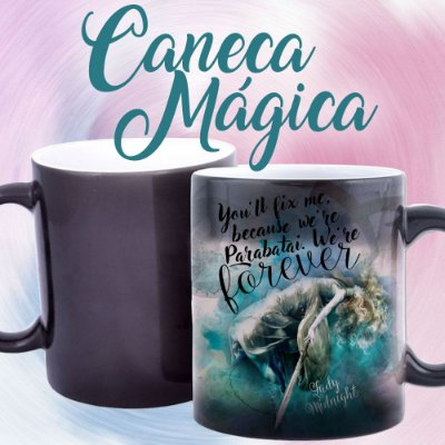 Caneca Mágica - Os Artifícios das Trevas - Dama da Meia Noite - Lady Midnight