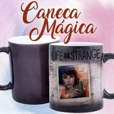 Caneca Mágica - Life is Strange - Black
