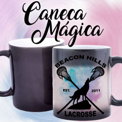 Caneca Mágica - Teen Wolf - Lacrosse