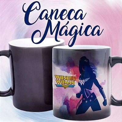 Caneca Mágica - Mulher Maravilha