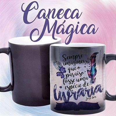 Caneca Mágica - Bookstagram - Sempre Imaginei