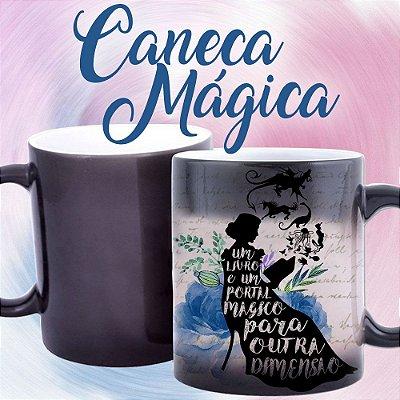 Caneca Mágica - Bookstagram - Livros são um Portal